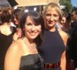 Robin Levinson with Edie Falco